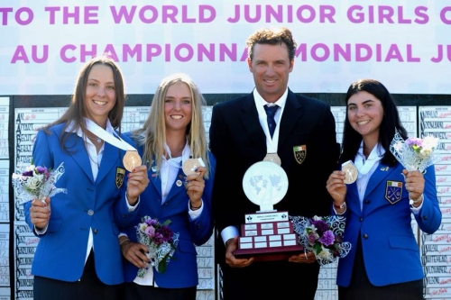 Caterina Don (5B) campionessa mondiale di golf